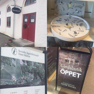 Brickor och underlägg Öster Malmas Gårdsbutik